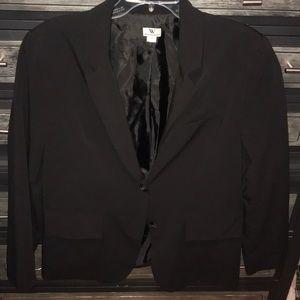 Worthington two button black blazer